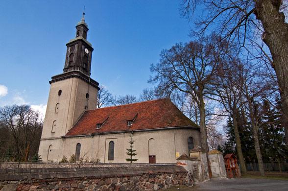 Golenice. Barokowy kościół z XVIII wieku.