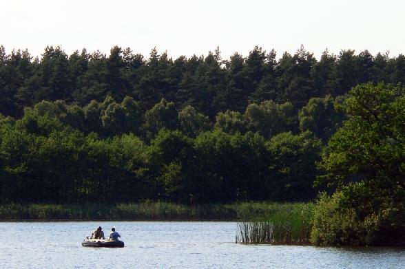 Jezioro Ostrowiec.
