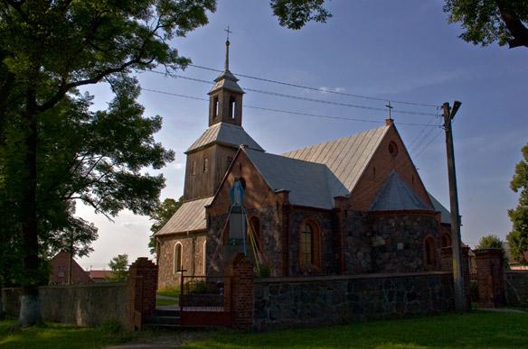Różańsko. Kościół pw. św. Michała Archanioła.