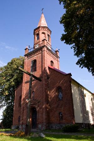 Kościół z XIV wieku.